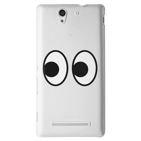 Sony C3 Cases - EYES EMOJI
