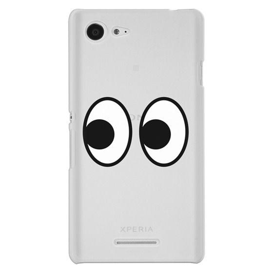 Sony E3 Cases - EYES EMOJI