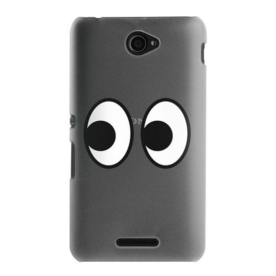 Sony E4 Cases - EYES EMOJI