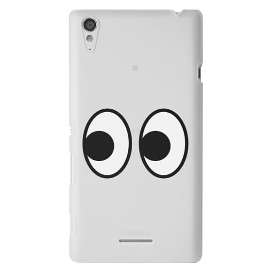 Sony T3 Cases - EYES EMOJI
