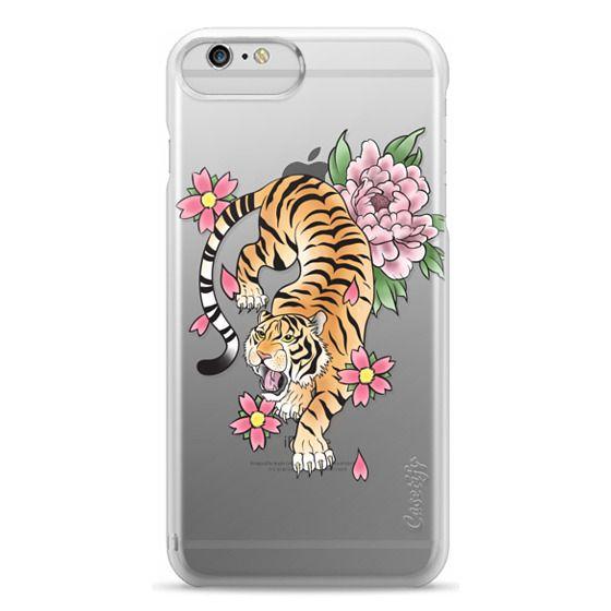 iPhone 6 Plus Cases - TIGER & FLOWERS