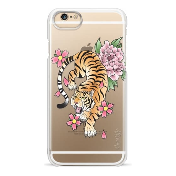 iPhone 6 Cases - TIGER & FLOWERS