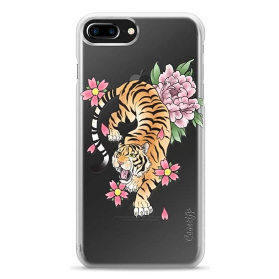 iPhone 7 Plus Cases - TIGER & FLOWERS