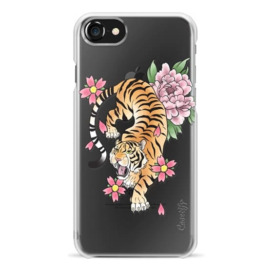 iPhone 7 Cases - TIGER & FLOWERS