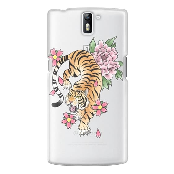 One Plus One Cases - TIGER & FLOWERS