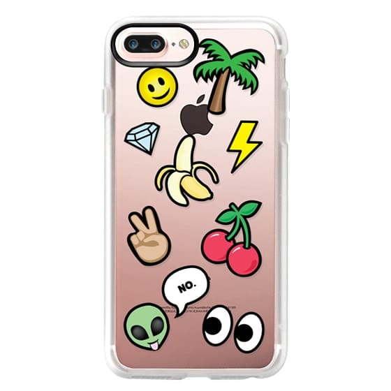 iPhone 7 Plus Cases - EMOTICONS