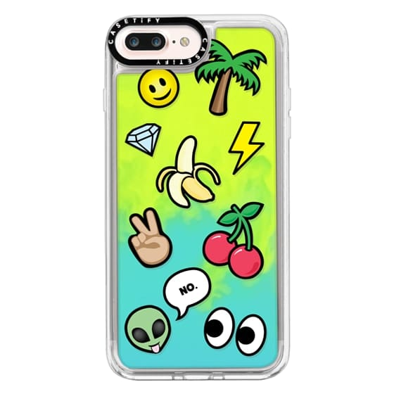 iPhone 7 Plus Cases - EMOTICONS