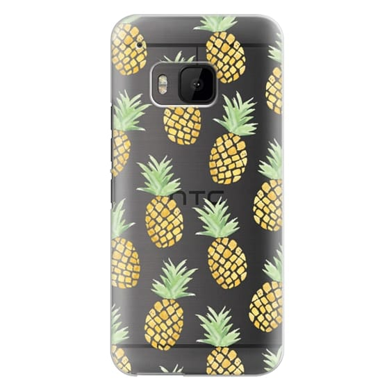 Htc One M9 Cases - PINEAPPLES