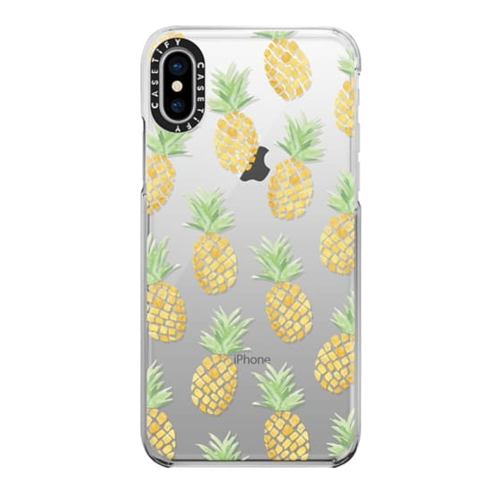 iPhone X Cases - PINEAPPLES
