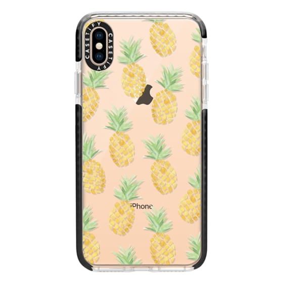 iPhone XS Max Cases - PINEAPPLES