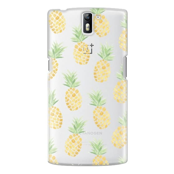 One Plus One Cases - PINEAPPLES