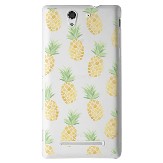Sony C3 Cases - PINEAPPLES