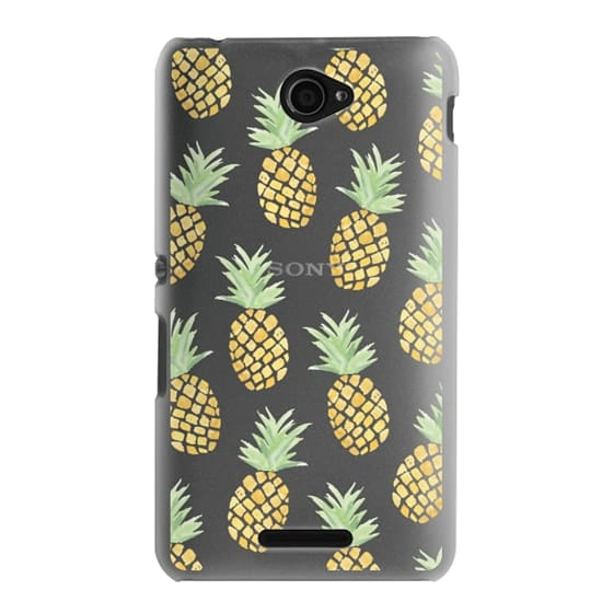 Sony E4 Cases - PINEAPPLES