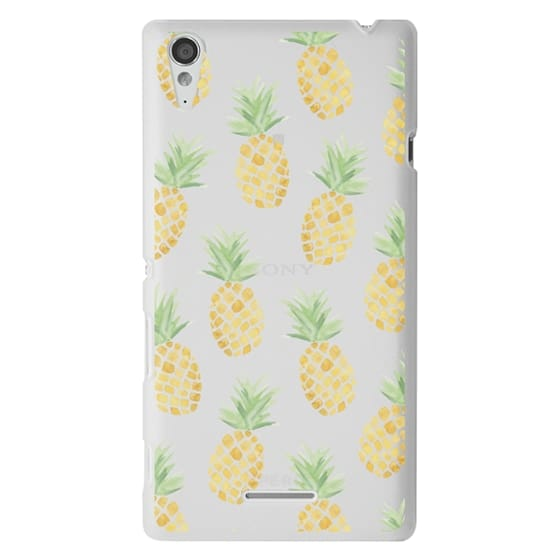 Sony T3 Cases - PINEAPPLES