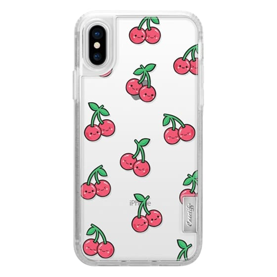 iPhone X Cases - CHEEKY CHERRIES