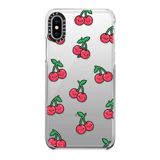 iPhone X Cases - CHEEKY CHERRIES