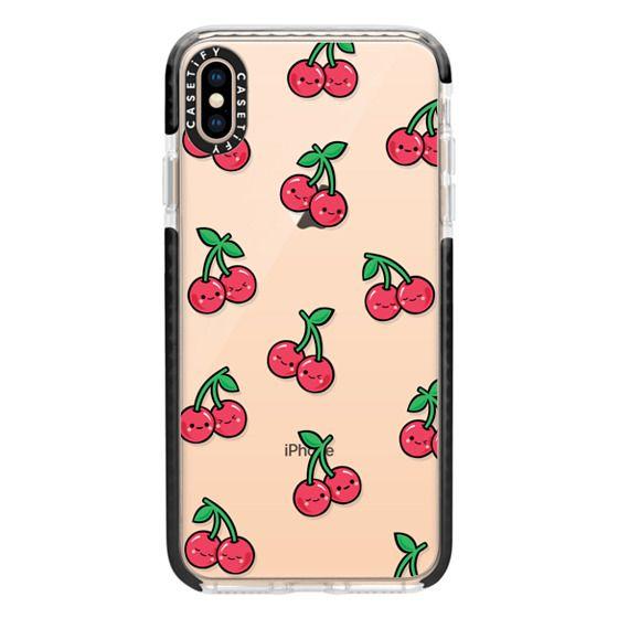 iPhone XS Max Cases - CHEEKY CHERRIES