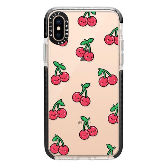 iPhone XS Cases - CHEEKY CHERRIES
