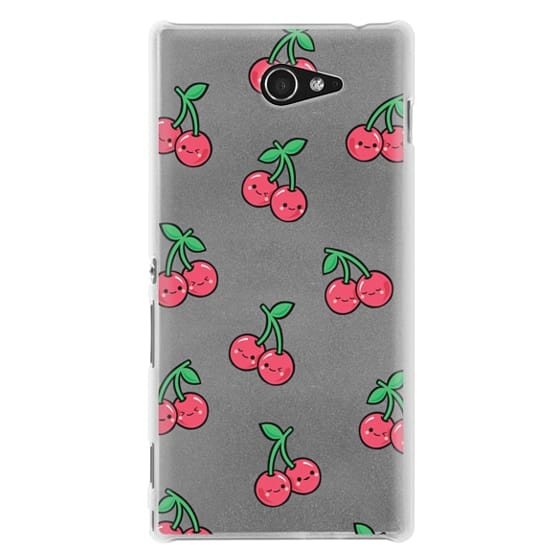 Sony M2 Cases - CHEEKY CHERRIES
