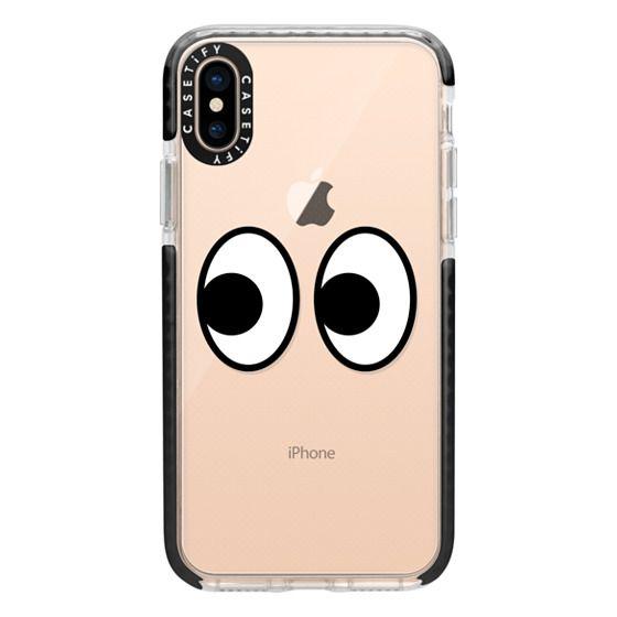 iPhone XS Cases - EYES EMOJI