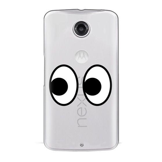 Nexus 6 Cases - EYES EMOJI