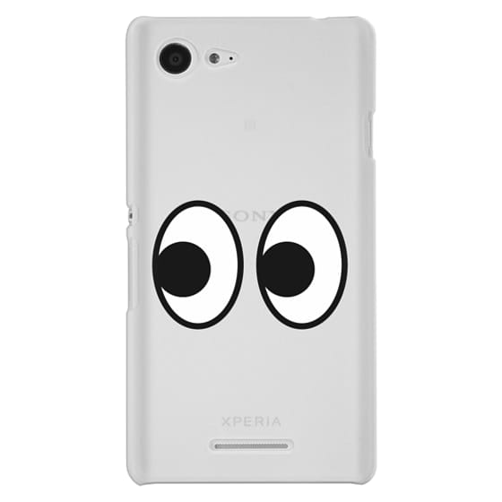 Sony E3 Cases - EYES EMOJI