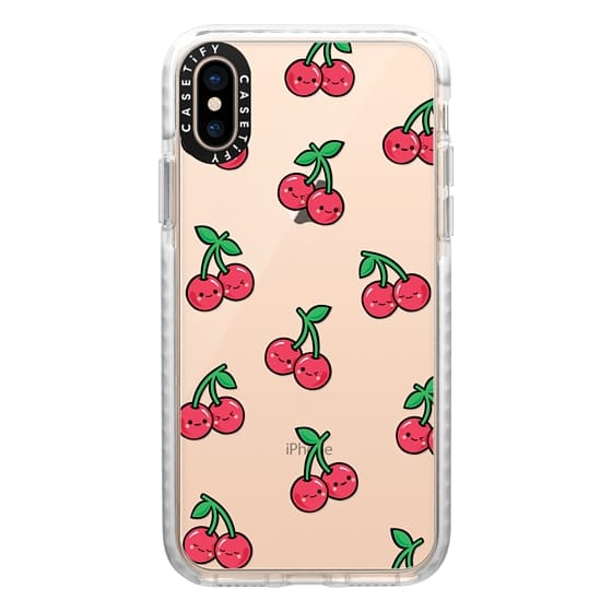 iPhone XS Cases - CHEEKY CHERRIES