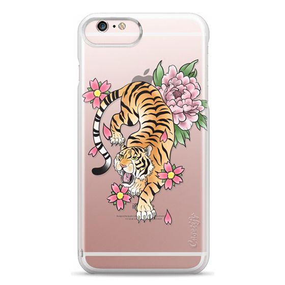 iPhone 6s Plus Cases - TIGER & FLOWERS