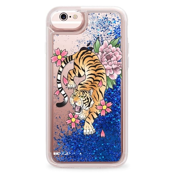 iPhone 6s Cases - TIGER & FLOWERS