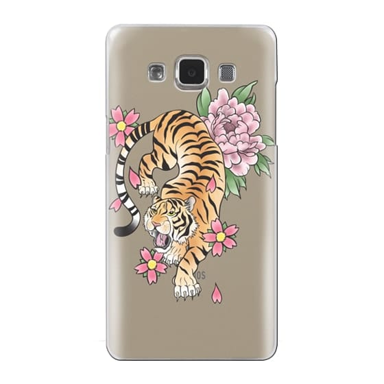 Samsung Galaxy A5 Cases - TIGER & FLOWERS