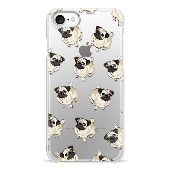 iPhone 7 Cases - PUG PATTERN