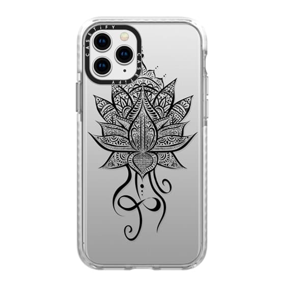 iPhone 11 Pro Cases - LOTUS MANDALA