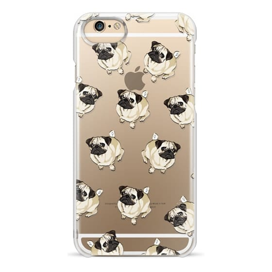 iPhone 6 Cases - PUG PATTERN