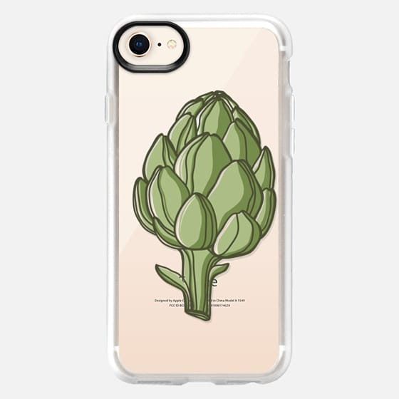 Artichoke Fresh Vegetables Prints - Snap Case