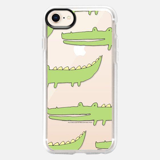 Cute crocodile - Snap Case