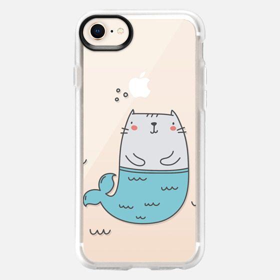 Cat Mermaid - Snap Case