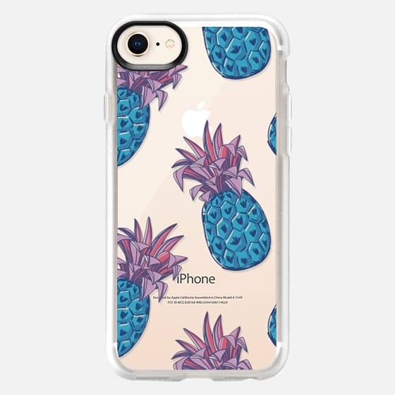 summer print with pineapple - Snap Case