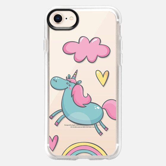 cute unicorn - Snap Case