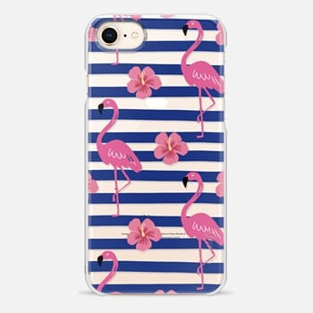 iPhone 8 Case Pink flamingo