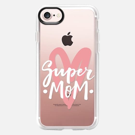Super mom. Mother's day - Classic Grip Case