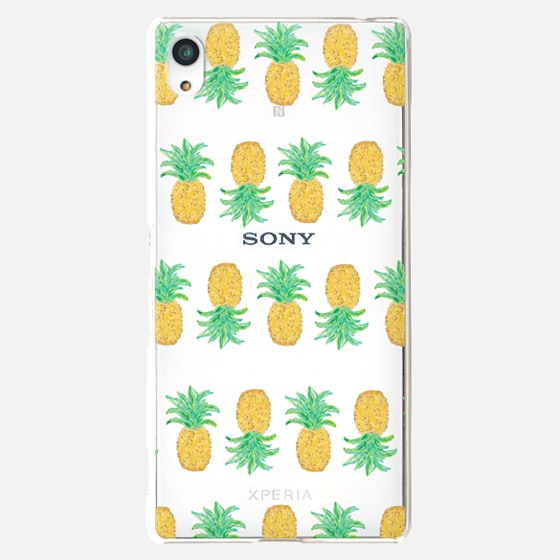 Pineapple Stripes - Transparent/Clear Background