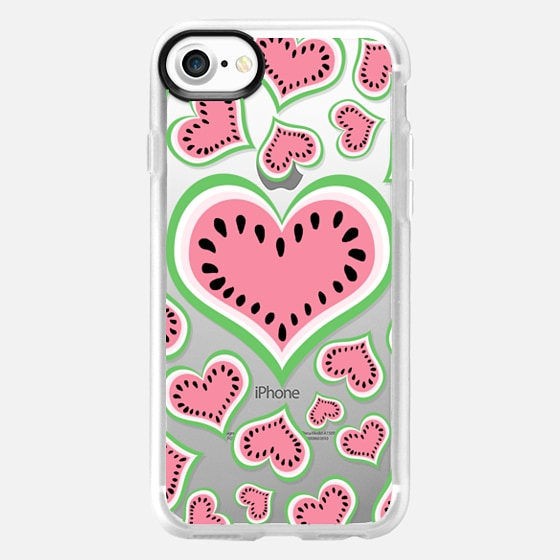 Watermelon Love...Transparent/Clear Background - Wallet Case