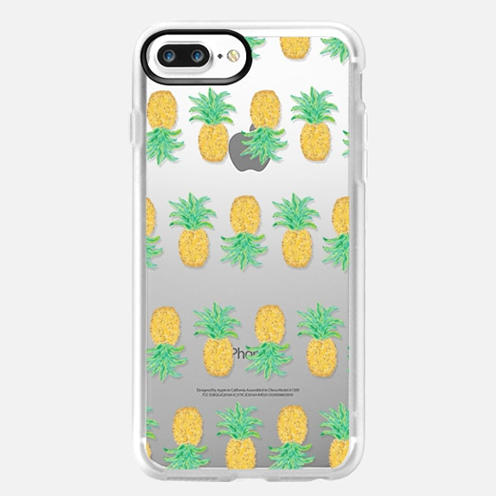 Pineapple Stripes (transparent) -