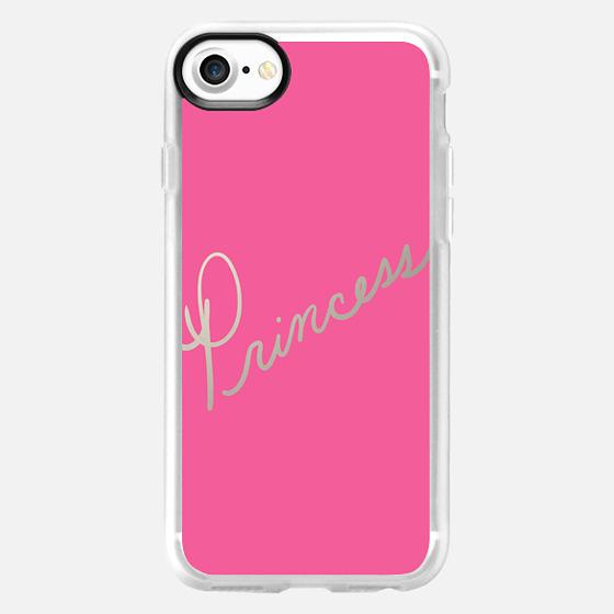 Princess Bold Pink - Wallet Case