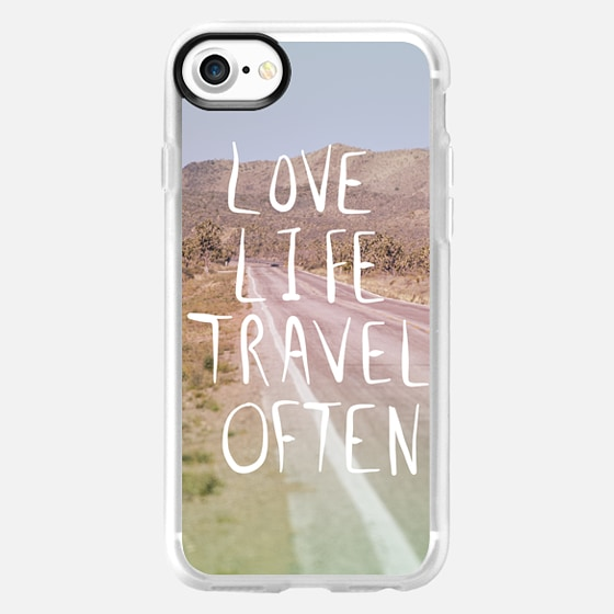 Love Life Travel Often (on the road) - Wallet Case