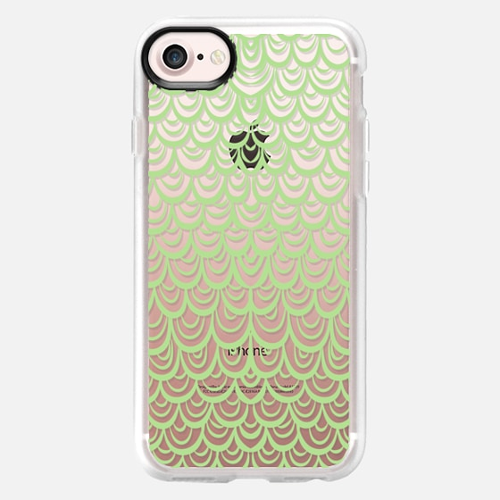 Mermaid Scales Peridot - Classic Grip Case