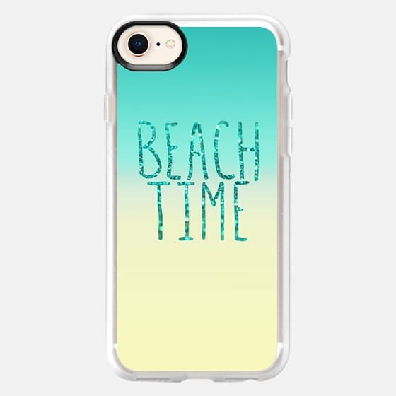 Beach Time Aqua - Snap Case