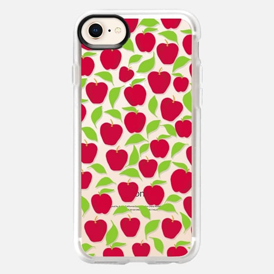 Red Delicious (transparent) - Snap Case