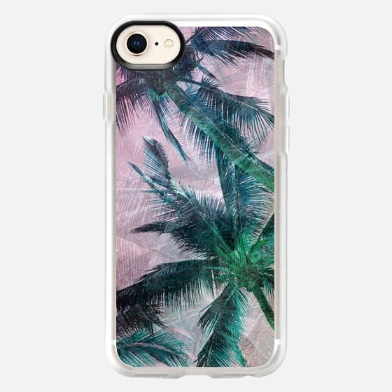 Textured Palms II - Snap Case
