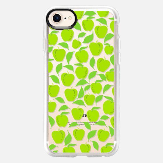 Green Apples (transparent) - Snap Case